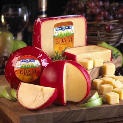 how to serve edam cheese
