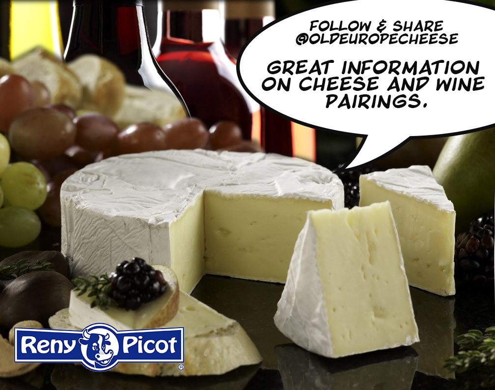 Old Europe Cheese and Wine Pairings