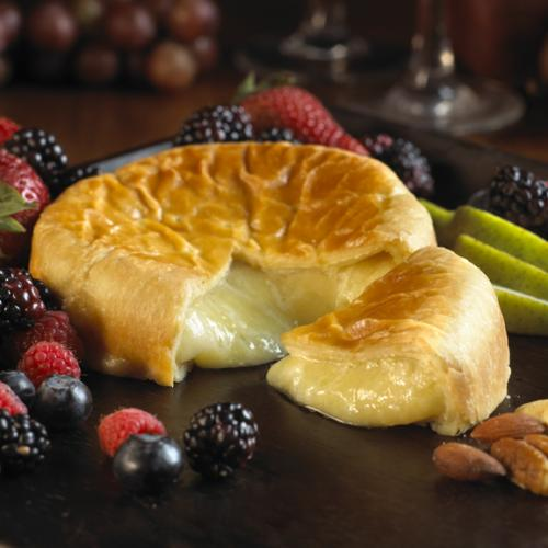 Baked Brie and Pastry 1