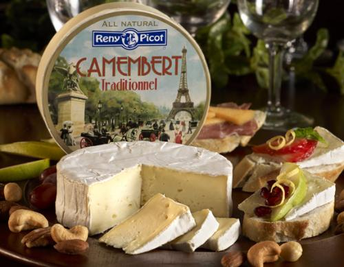 Camembert Traditionnel Beauty with product