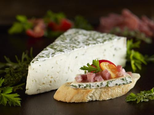 Herb and garlic brie 2