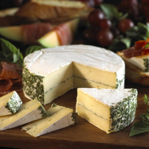 Layered Brie with Erb 2