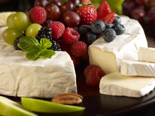 Party Brie close up