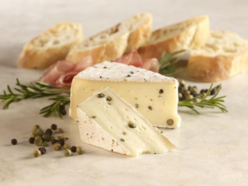 Pepper Brie label 2 procuitto