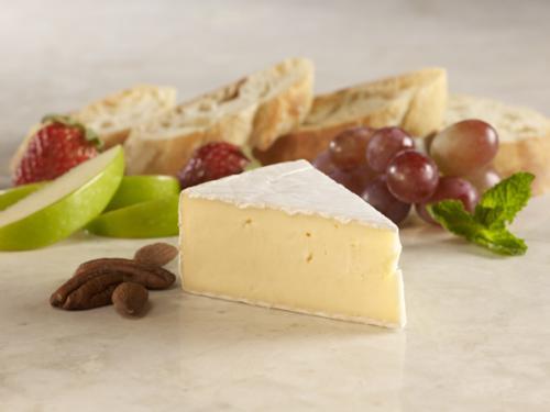 Plain Brie label